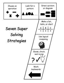 Seven Super Solving Strategies - Black and White