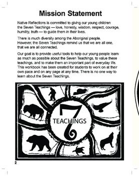 Seven Teachings Classroom Workbook