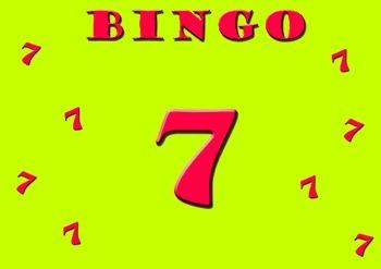 Seven Times Table Bingo - Class Set (30)