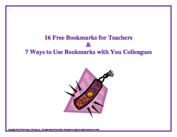 Free Bookmarks with Quotes for Teachers