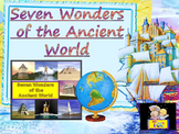 Seven Wonders of the Ancient World  Booklet distance learning