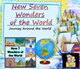 Seven Wonders of the World Booklet distance learning