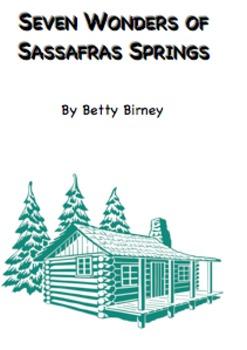 Seven Wonders of Sassafras Springs Book Brochure