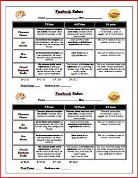 Seven Wonders of Sassafras Springs Facebook Activity Common Core