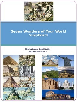 Seven Wonders of Your World---Storyboard