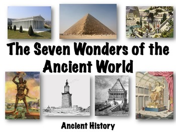 a history of the architectural seven wonders of the ancient world Most of the original seven wonders of the world have vanished through acts of  human history, climate and geology  wonders list should be established for  existing pieces of architecture  other contenders included the great pyramid of  giza (the only remaining wonder of the ancient world), the acropolis.