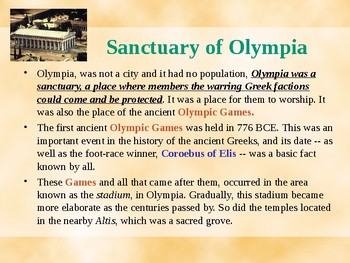 Seven Wonders of the Ancient World - The Statue of Zeus at Olympia