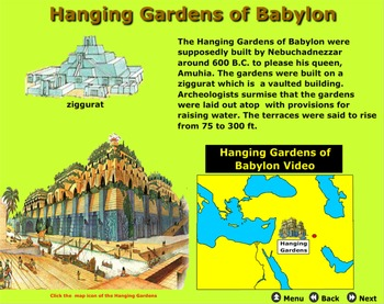 Seven Wonders of the Greek World - Bill Burton