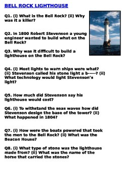 Seven Wonders of the Industrial World  - The Bellrock Lighthouse