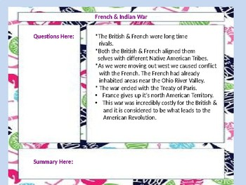 Seven Years & French and Indian War Difference