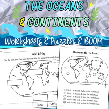 Seven continents & Five oceans