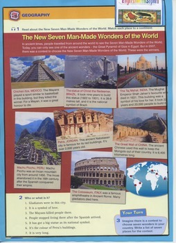 Seven manmade wonders of the world