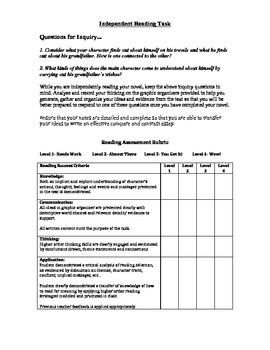 Seven series: An Independent/ Guided Reading Unit (Student Package)