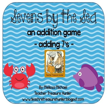Sevens by the Sea - An addition game for practicing adding