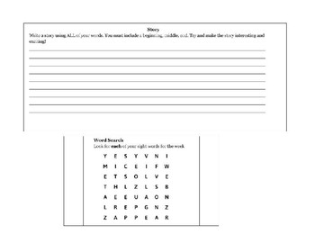 Seventh 100 Fry Sight Words Homework