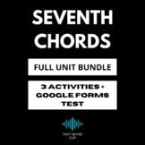 Seventh Chords FULL UNIT BUNDLE - Music Theory
