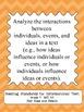 Seventh Grade Common Core Standards ELA Posters