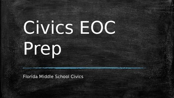Seventh Grade Florida Civics Practice EOC with answers by ...