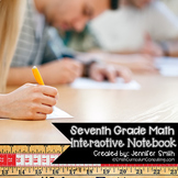 Seventh Grade Math Interactive Notebook Bundle- All Standards