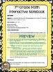 Seventh Grade Math Interactive Notebook Bundle- All Standards