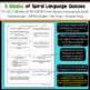 7th Grade Language Spiral Review | 7th Grade Grammar Practice | 1st Quarter