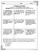 Seventh Grade Math Homework Sheets- Ratios and Proportions