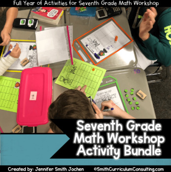 Seventh Grade Math Workshop Concept Based Activities | TEKS, CCSS, OAS Aligned