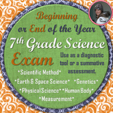 Seventh Grade Science Exam: A Beginning or End of the Year