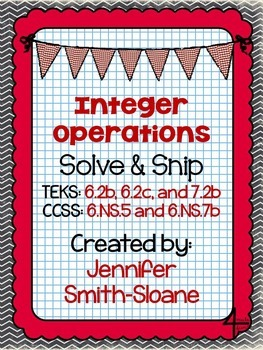 Seventh Grade Solve and Snips Bundle - Interactive Math Word Problems