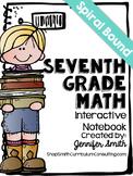 Seventh Grade Spiral Bound Full Year Interactive Notebook: