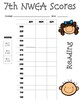 Seventh Grade Student Data Collection Sheets