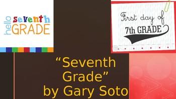 Seventh Grade by Gary Soto PLOT PPT