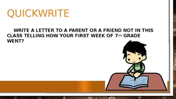 Seventh Grade by Gary Soto Power point version