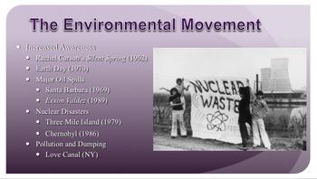 Seventies (1970's) PPT - APUSH New Curriculum Framework - Period 8