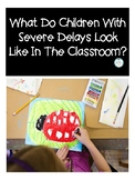 Severe Delays- Teacher Handout