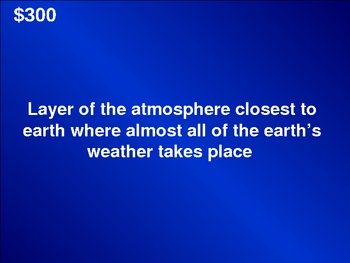 FUN TCAP Severe Storms, Disasters,& Weather Powerpoint Jeopardy Game