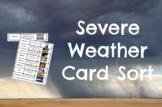 Severe Weather CARD SORT