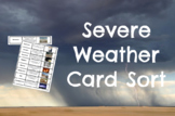 Severe Weather CARD SORT