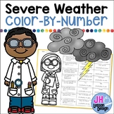 Severe Weather Color-By-Number