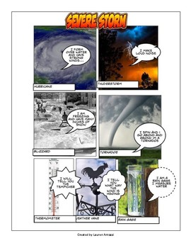 Severe Weather Comics
