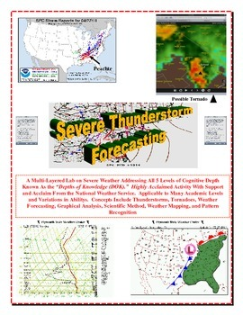 Weather:  Severe Weather, Fronts, and Forecasting (Middle School to College)