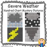 Severe Weather Hundred Chart Mystery Pictures (Rain, Hail, Lightning, Tornado)