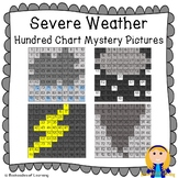 Severe Weather Hundred Chart Mystery Pictures (Rain, Hail, Lightning, Tornado)