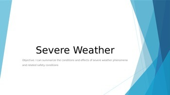 Severe Weather PowerPoint