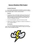 Severe Weather Public Service Announcement PBL