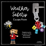 Severe Weather Safety Escape Room