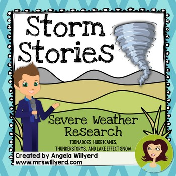 Severe Weather - Storm Stories PBL 10-Day Unit - SMART Notebook Edition