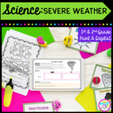 Severe Weather Storms Mini Unit- 1st & 2nd Grade Google Slides Distance Learning