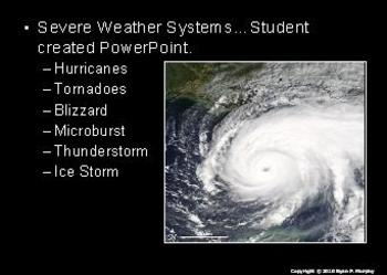 Severe Weather Lesson, Hurricane, Tornado