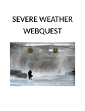 Severe Weather Webquest